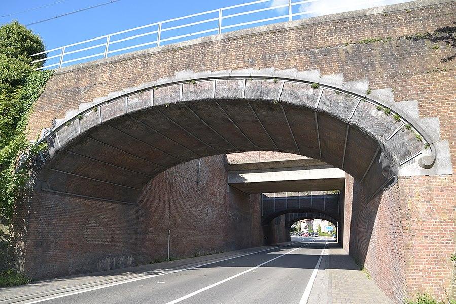 Spoorbrug N465 Melle