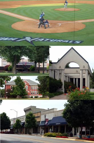 Springdale, Arkansas - Image: Springdale collage
