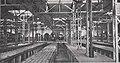 Städtische Straßenbahnen Wien 1903–1913 (page 109 crop) – Wagenhalle mit eisernem Tragwerk für die Betondecke im Bahnhof Brigittenau.jpg