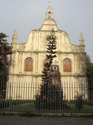 St. Francis Church, Kochi - Front view of the church