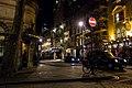 St. Martin's Lane, London at night in 2016.jpg
