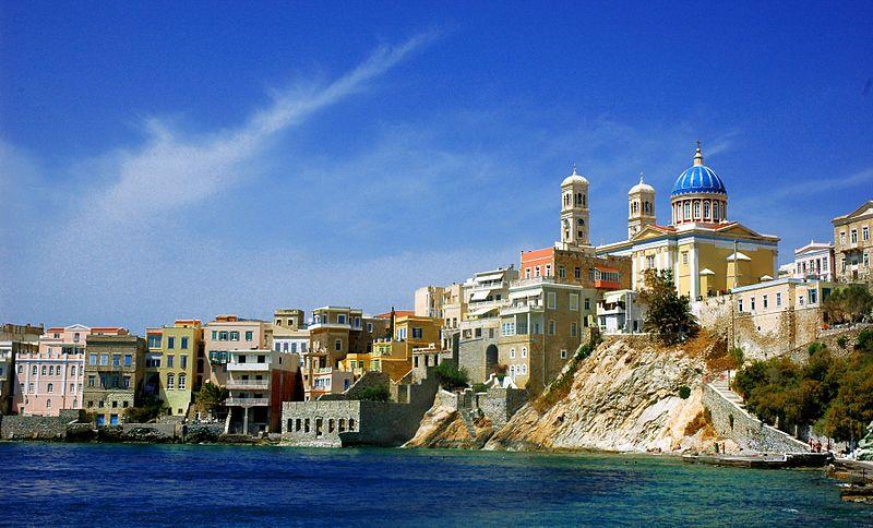 File:St. Nicolas and Vaporia district, Syros island, Greece - panoramio.jpg