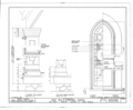 St. Paul's Episcopal Church, 209 Ann Street, Beaufort, Carteret County, NC HABS NC,16-BEAUF,7- (sheet 8 of 8).png