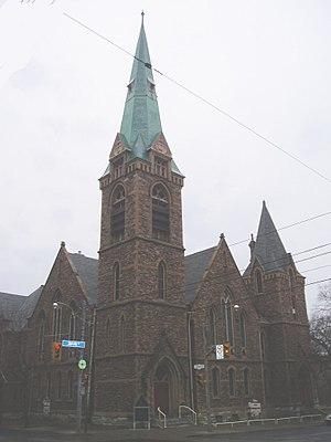 Edmund Burke (architect) - Image: St Andrew's Lutheran Toronto