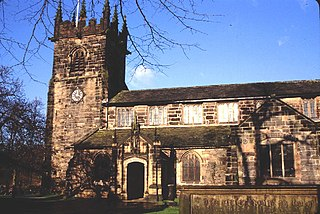 St Bartholomews Church, Wilmslow Church in Cheshire, England
