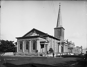 St James' Church, Sydney - St James' Church in about 1890, by Henry King