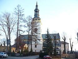 St Marcin and Małgorzata Church in Kłobuck1.jpg