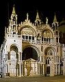 St Marks Basilica at Night (7257675498).jpg