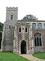 St Mary's church, Shelton, Norfolk - the south porch - geograph.org.uk - 1402297.jpg