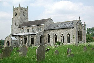 Great Cressingham - Image: St Mary, Great Cressingham, Norfolk geograph.org.uk 310444