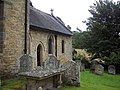 St Mary the Virgin, Ebberston - Old Graves - geograph.org.uk - 495626.jpg