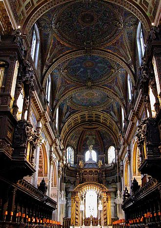 Utrecht Te Deum and Jubilate - St Paul's Cathedral, interior facing east