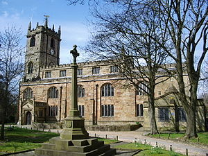 Listed buildings in Burnley - Image: St Peter's Church, Burnley