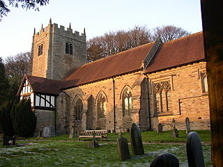 St Wilfrids Church, Halton-on-Lune Church in Lancashire, England