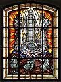 Stained-glass window in Church of the Nativity of the Virgin Mary in Mińsk Mazowiecki - 03.jpg