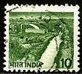 Stamp of India - 1988 - Colnect 1003923 - 1 - Irrigation Canal.jpeg