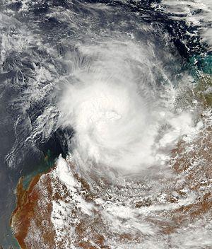 2015–16 Australian region cyclone season - Image: Stan 2016 01 30 0605Z