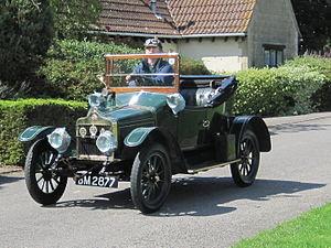 Standard Motor Company - 1913 Model S 2-seater tourer