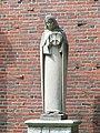 Statue 1 - Emmanuel College, Massachusetts - DSC09833.JPG