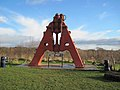 Steam Hammer on the hill just east of Telford services - geograph.org.uk - 1635938.jpg