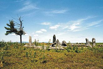 Archaeology of the Americas - Burnt Hill Stone Circle, Heath, Massachusetts, USA