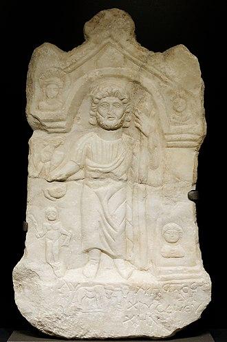 Dorylaeum - Stele dedicated to Zeus Chryseos, 3rd century AD, Dorylaeum