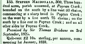 Stephen Macdonald Popran land grant 1836.png