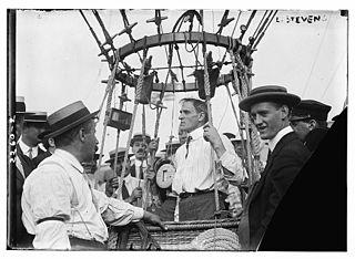 Albert Leo Stevens American balloonist