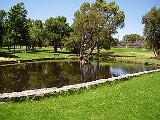 Kalamunda, Western Australia - Image: Stirk Park, Kalamunda