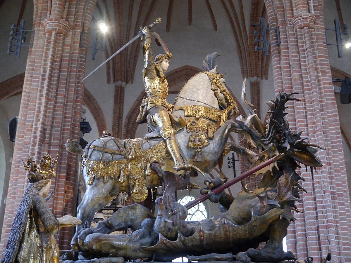 St George Dragons: Saint George And The Dragon (Notke)