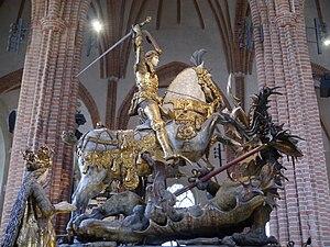 Saint George and the Dragon (Notke) - Saint George and the Dragon by Bernt Notke