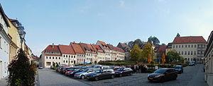 Stolpen - Stolpen marketplace in October 2014