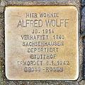 Stolperstein Alfred Wolff, Venloer Straße 268, Köln-2056.jpg
