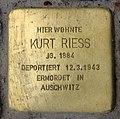 Stolperstein Augsburger Str 29 (Charl) Kurt Riess.jpg