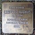 Stolperstein Bocholt Ludgerusstraße 4 Leopold Markus.jpg
