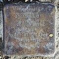 Stolperstein Cuxhavener Str 5 (Hansa) Benno Gradenwitz.jpg