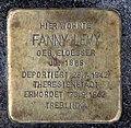 Stolperstein Flotowstr 10 (Hansa) Fanny Levy.jpg