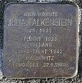 Stolperstein Hagenstraße 17 Stadtlohn Julia Falkenstein.jpg