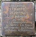 Stolperstein Kastanienallee 23 (Westend) Elisabeth Kuznitzky.jpg
