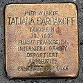 Stolperstein Knesebeckstr 100 (Charl) Tatjana Barbakoff.jpg