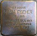 Stolperstein Salzburg, Maria Fischer (Paris-Lodron-Straße 5).jpg