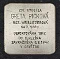 Stolperstein für Greta Picková.JPG