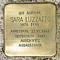 Stolperstein für Sara Luzzatto in Gorizia.jpg