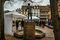 Strasbourg inauguration de la place Saint Etienne réaménagée 23 février 2015.jpg