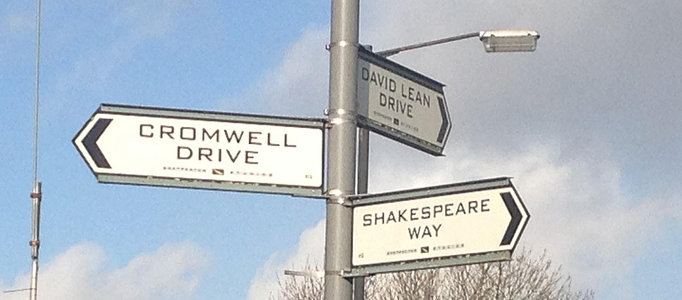 Street Sign at Shepperton Studios