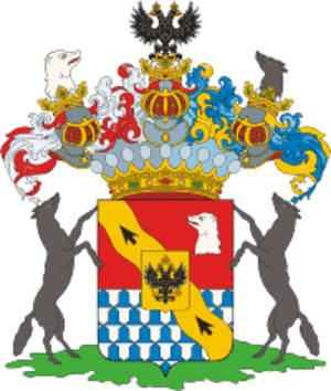 Stroganov family - Arms of the Stroganov family