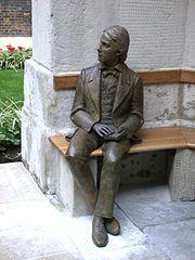 Statue of John Keats