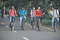 Students Cycling - IIT Kharagpur Campus - West Midnapore 2015-09-28 4538.JPG