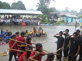 "Students during the celebration of ""Buwan ng Wika"".JPG"