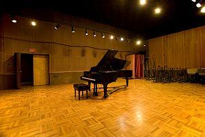 Fantasy Studios - Present-day live room of Studio A